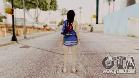 DOA 5 Kokoro DLC for GTA San Andreas third screenshot