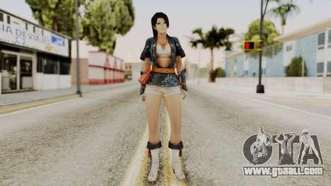 DOA 5 Momiji for GTA San Andreas second screenshot