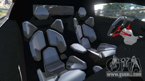 GTA 5 Lamborghini Sesto Elemento v0.5 right side view