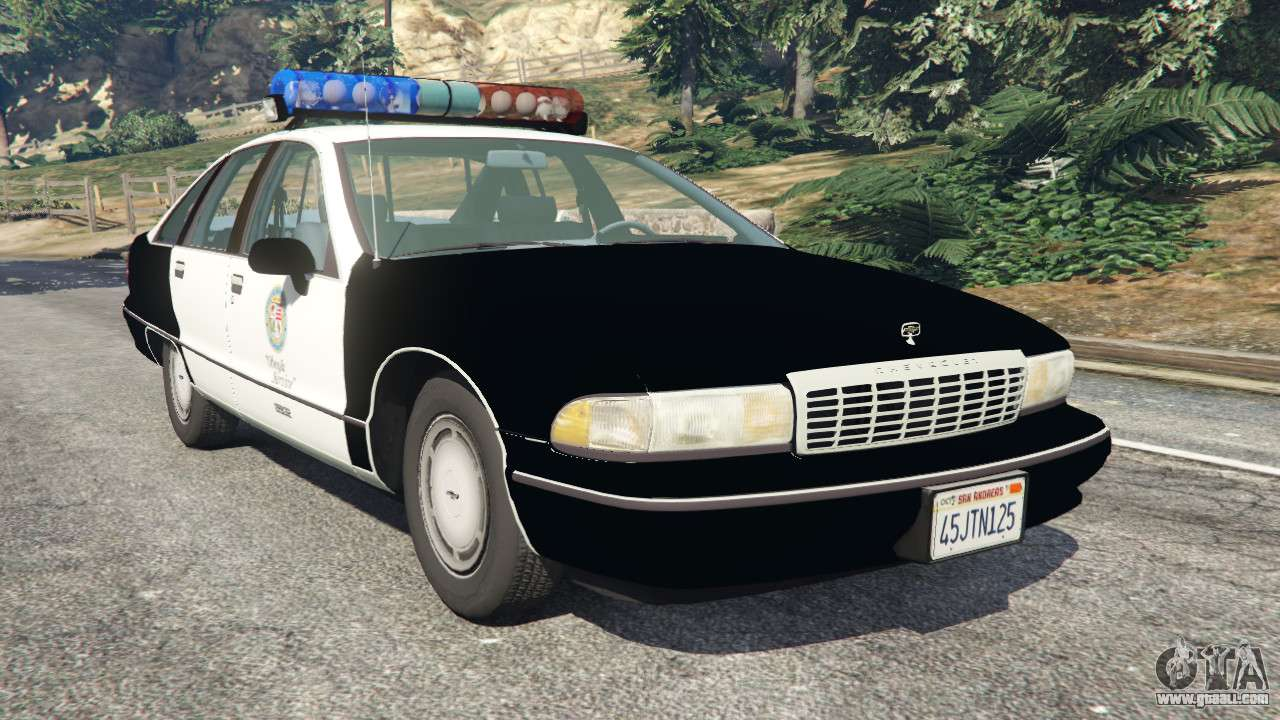 Chevrolet Caprice 1991 LSPD for GTA 5