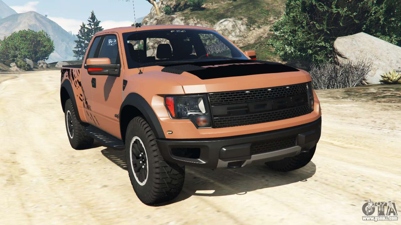ford f 150 svt raptor 2012 for gta 5. Black Bedroom Furniture Sets. Home Design Ideas