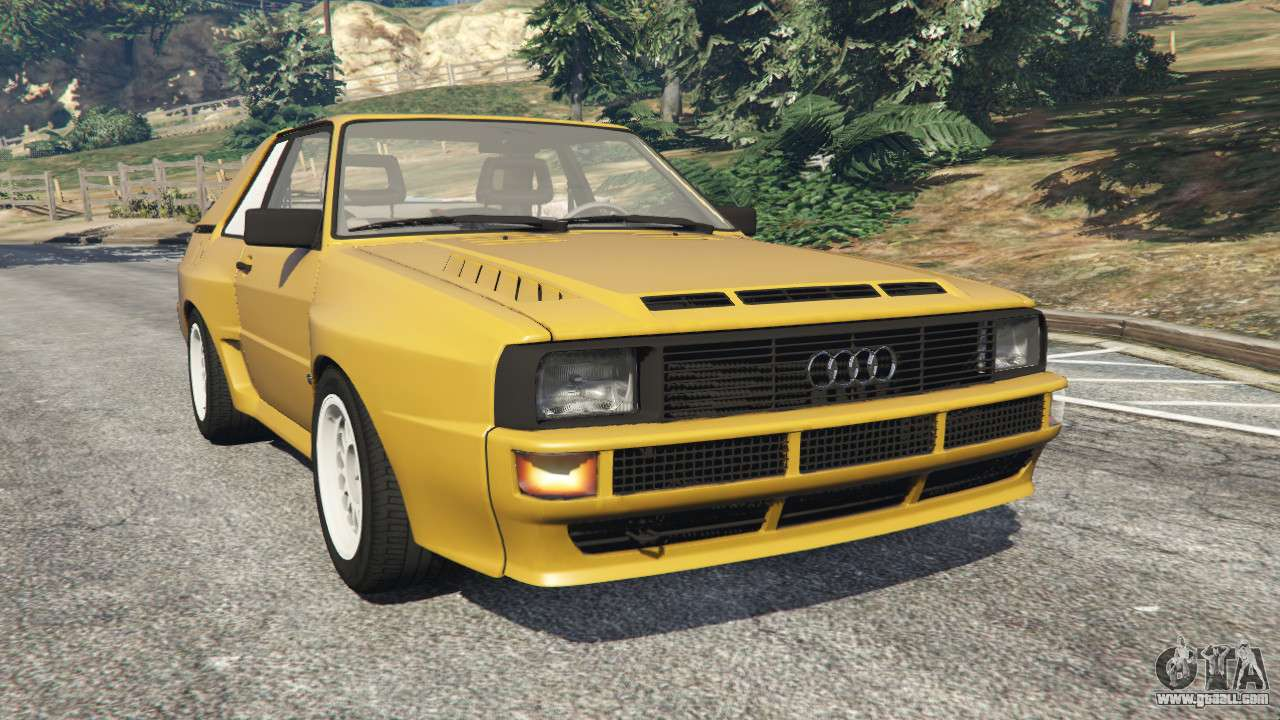 audi sport quattro for gta 5. Black Bedroom Furniture Sets. Home Design Ideas