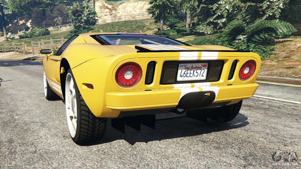 Ford Gt  For Gta  Mid Engined Sports Car Replacement Vapid Bullet