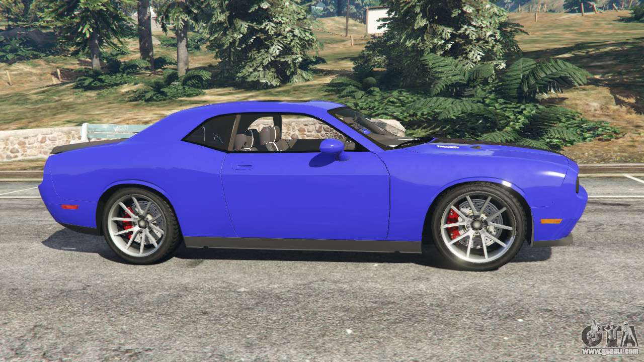 Dodge Challenger Beta For Gta