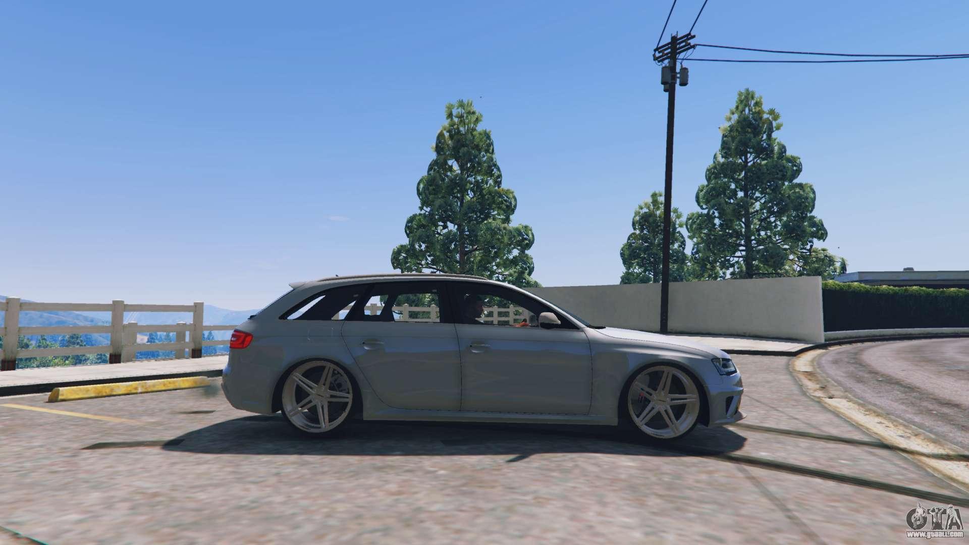 Audi Rs4 Avant V1 1 For Gta 5