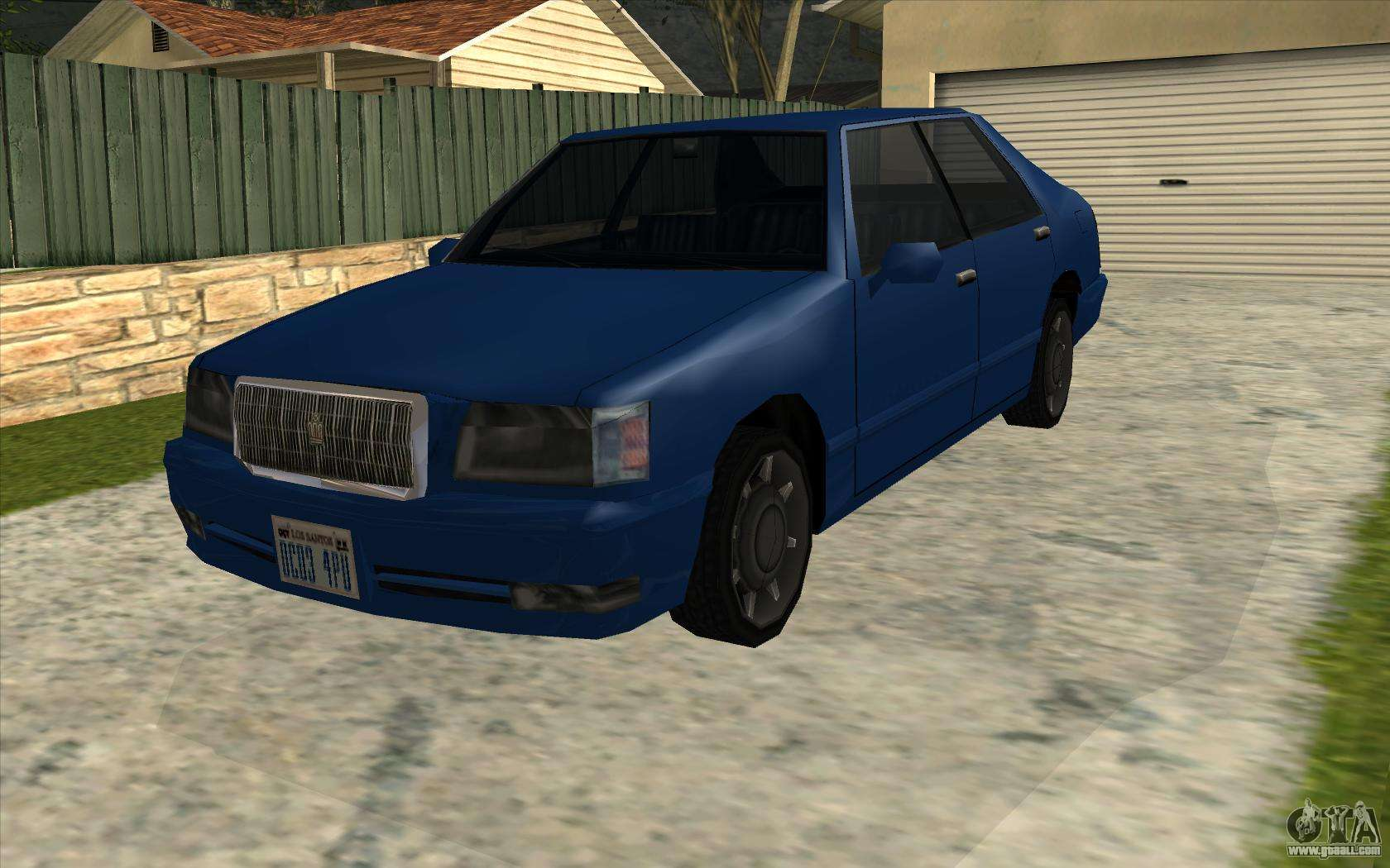 Toyota Crown Majesta GTA Style for GTA San Andreas