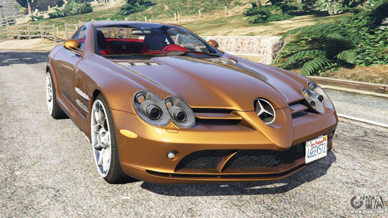 Mercedes benz slr mclaren 2015 for gta 5 for Mercedes benz mclaren slr