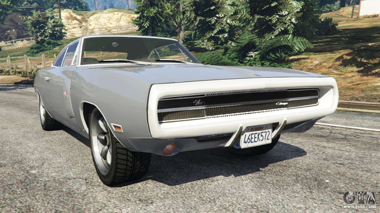 dodge charger rt se 440 magnum 1970 for gta 5. Black Bedroom Furniture Sets. Home Design Ideas