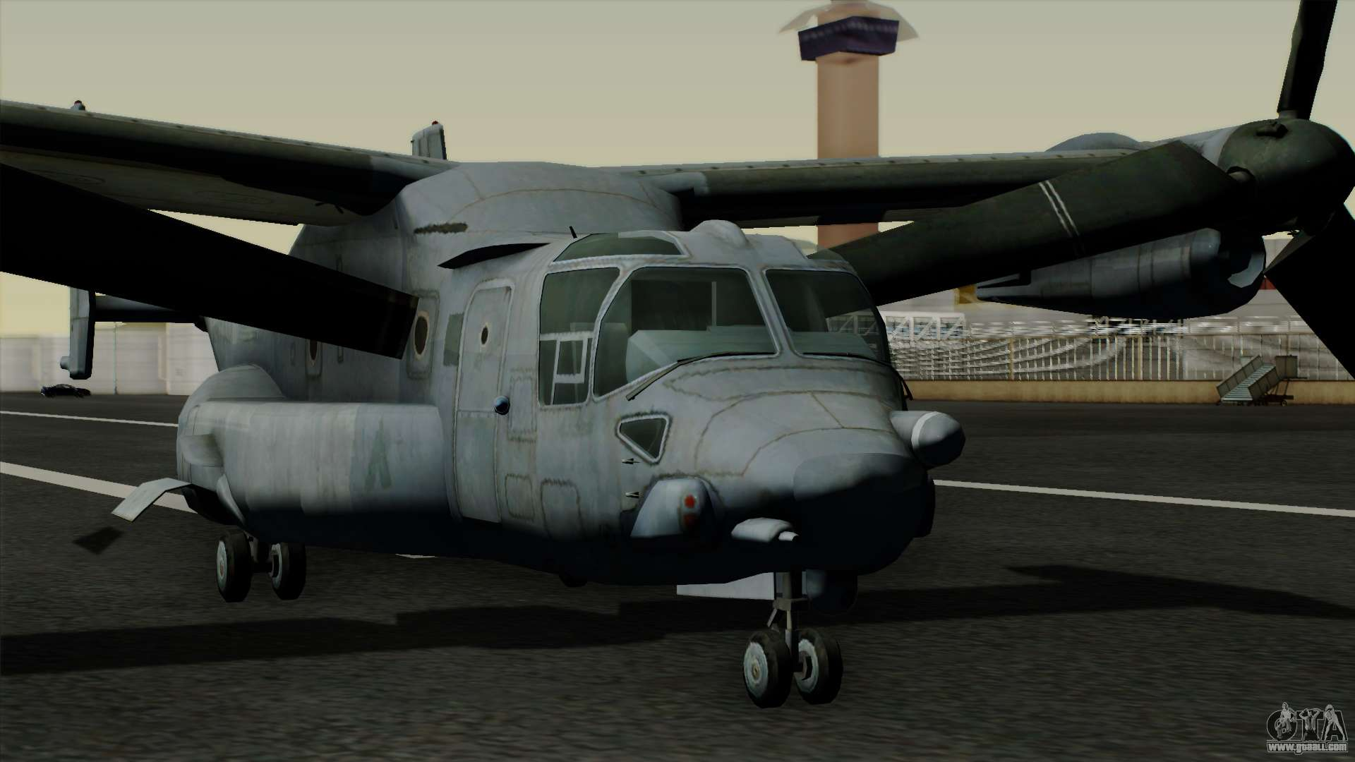 MV-22 Osprey for GTA San Andreas