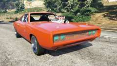 Dodge Charger 1970 Fast & Furious 7 for GTA 5
