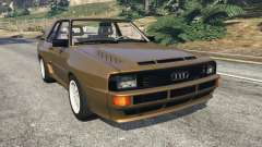 Audi Sport quattro v1.3 for GTA 5