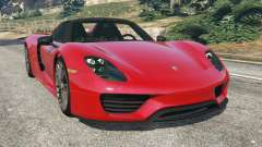 Porsche 918 Spyder 2013 for GTA 5
