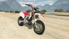 Honda CRF450 Turbo Motard for GTA 5