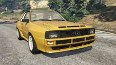 Audi Sport quattro for GTA 5