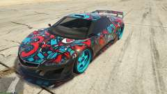 Dinka Jester (Racecar) Sticker Bombing для GTA 5