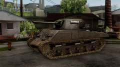 M4 Sherman from CoD World at War for GTA San Andreas