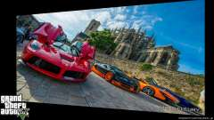 Supercars Loading Screens for GTA 5