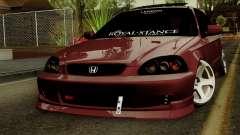 Honda Civic Hatchback B. O. Construction for GTA San Andreas