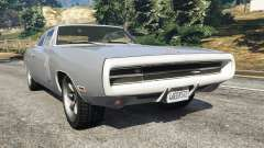 Dodge Charger RT SE 440 Magnum 1970 for GTA 5