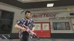 Anime carabiner for GTA 5