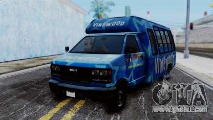 Vinewood VIP Star Tour Bus for GTA San Andreas