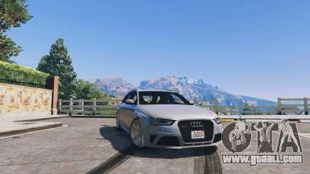 Audi RS4 Avant v1.1 for GTA 5