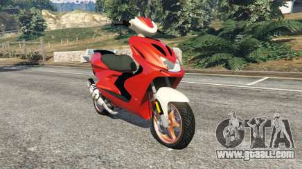 Yamaha Aerox for GTA 5