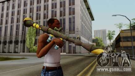 Brasileiro Rocket Launcher v2 for GTA San Andreas