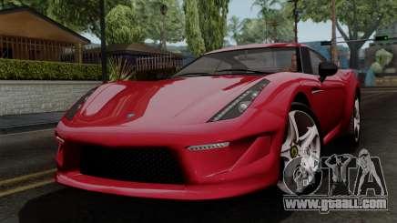 Grotti Carbonizzare FF for GTA San Andreas