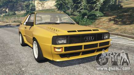 Audi Sport quattro for GTA 5