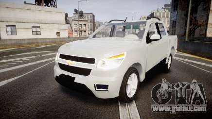 Chevrolet S10 LTZ 2014 v0.1 for GTA 4