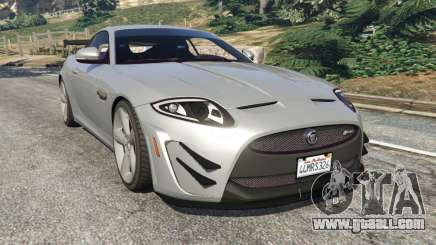 Jaguar XKR-S GT 2013 for GTA 5