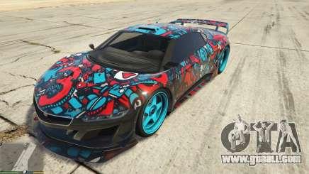 Dinka Jester (Racecar) Sticker Bombing для GTA 5 for GTA 5