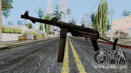 MP40 from Battlefield 1942 for GTA San Andreas