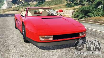 Ferrari Testarossa 1984 for GTA 5