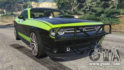 Dodge Challenger 2015 Shaker Furious 7 for GTA 5