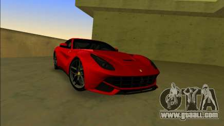 Ferrari F12 Berlinetta for GTA Vice City