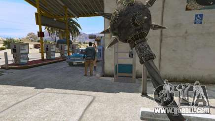 Steel Mace of TES IV Oblivion for GTA 5