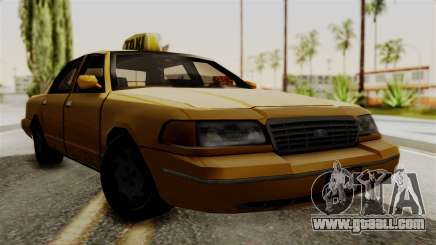 Ford Crown Victoria LP v2 Taxi for GTA San Andreas
