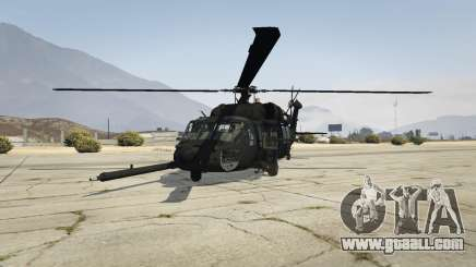 MH-60L Black Hawk for GTA 5