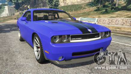 Dodge Challenger SRT8 2009 v0.3 [Beta] for GTA 5