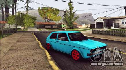 Volkswagen Golf MK1 for GTA San Andreas