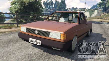 Volkswagen Saveiro Cli 1.6 [Edit] for GTA 5