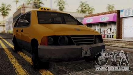 Minivan Cabbie SA Style for GTA San Andreas