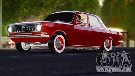 GAZ Volga 2401 tuning for GTA 4