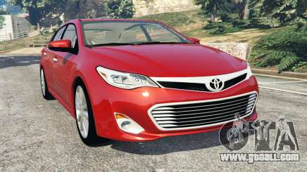 Toyota Avalon 2014 for GTA 5
