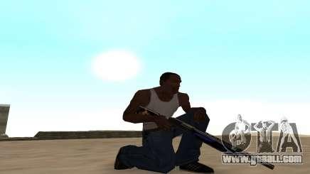 Shotgun with a tiger cub for GTA San Andreas