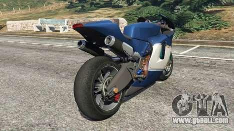 GTA 5 Ducati Desmosedici RR 2012 right side view