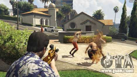 GTA 5 Flamethrower for GTA 5
