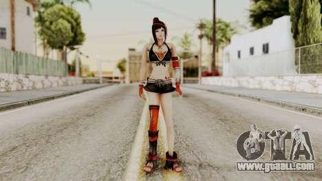 Dynasty Warriors 8 - Bao Sannian Black Costume for GTA San Andreas second screenshot